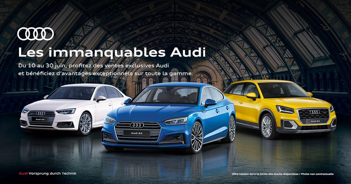 Les Immanquables Audi