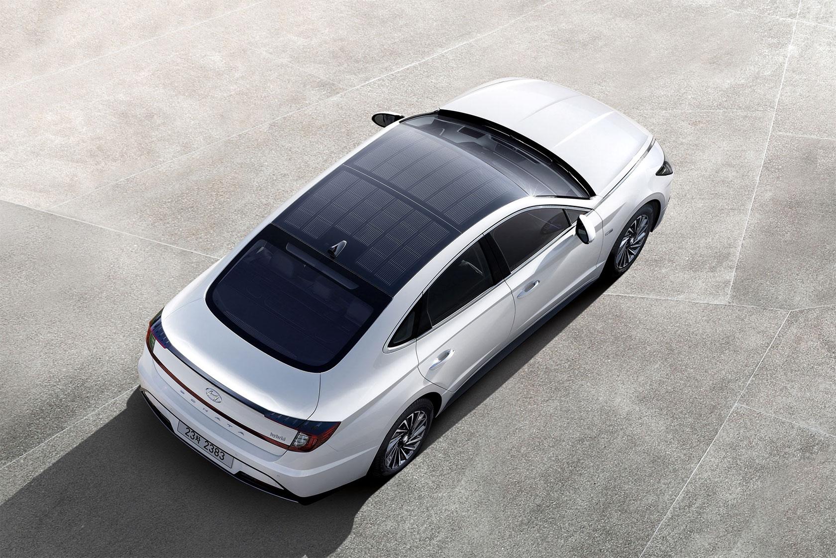 Hyundai lance son premier système de charge solaire