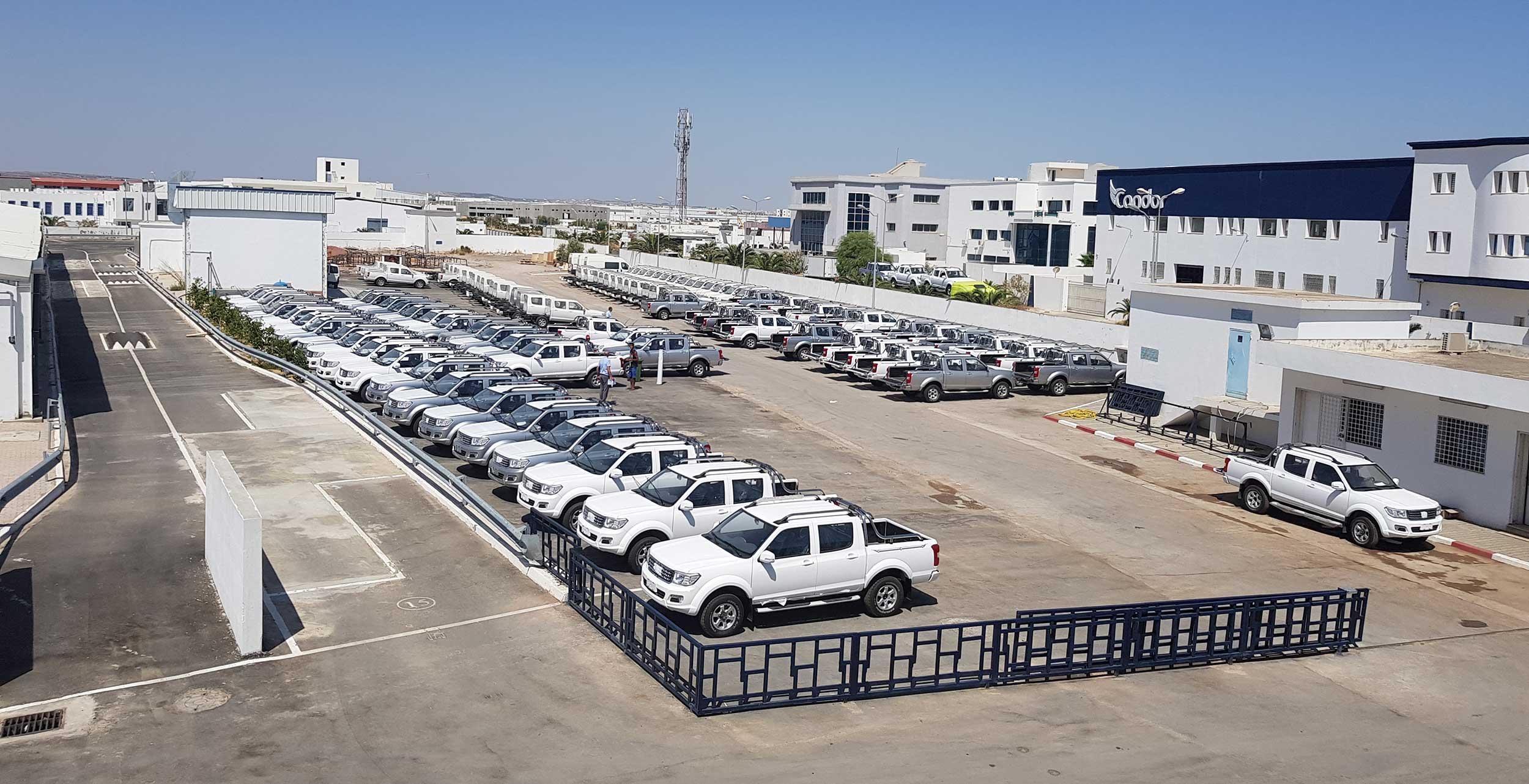 Le Pick Up Peugeot à la conquête de l'Afrique