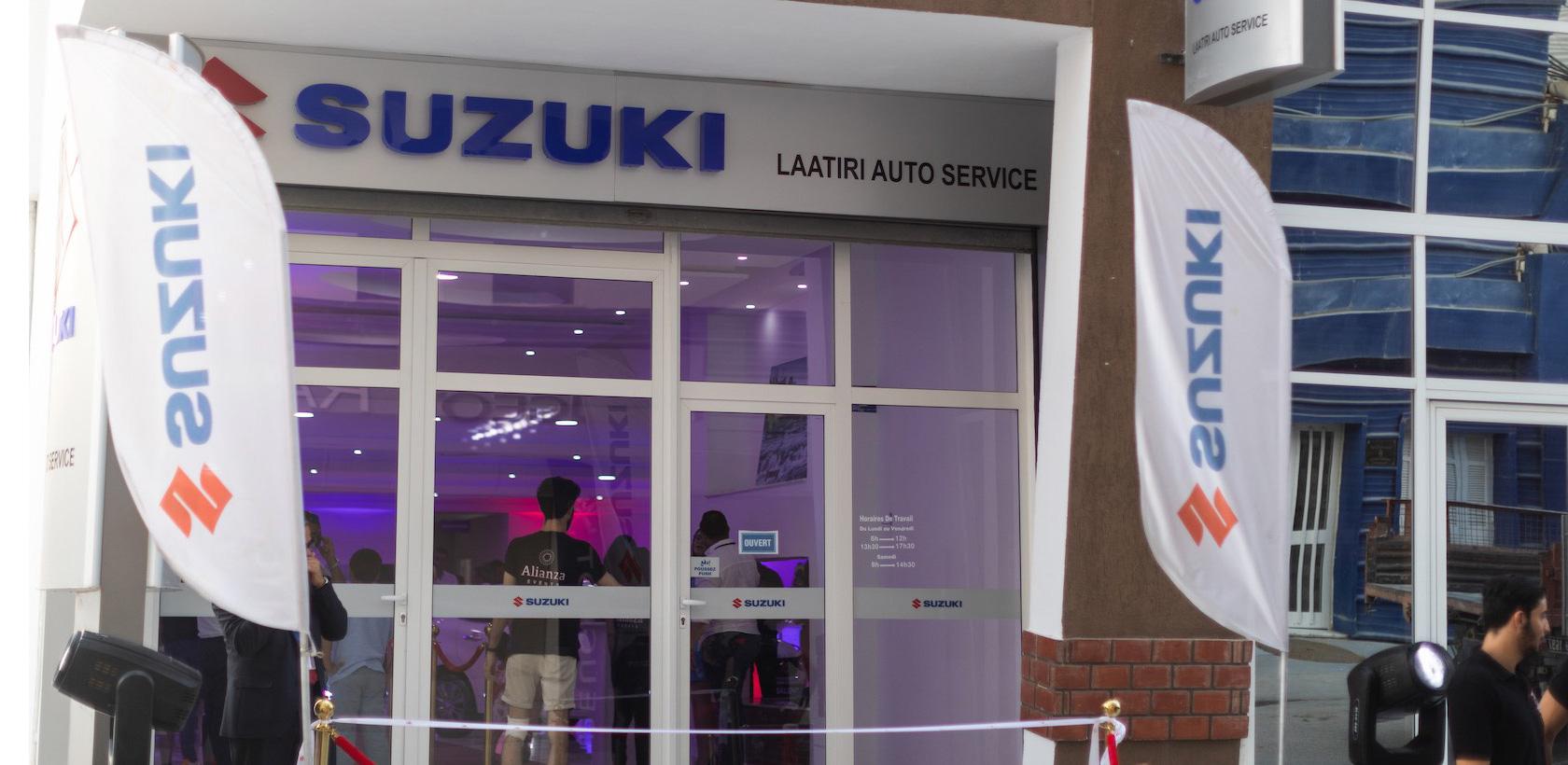 Nouvelle Agence Suzuki à Sousse