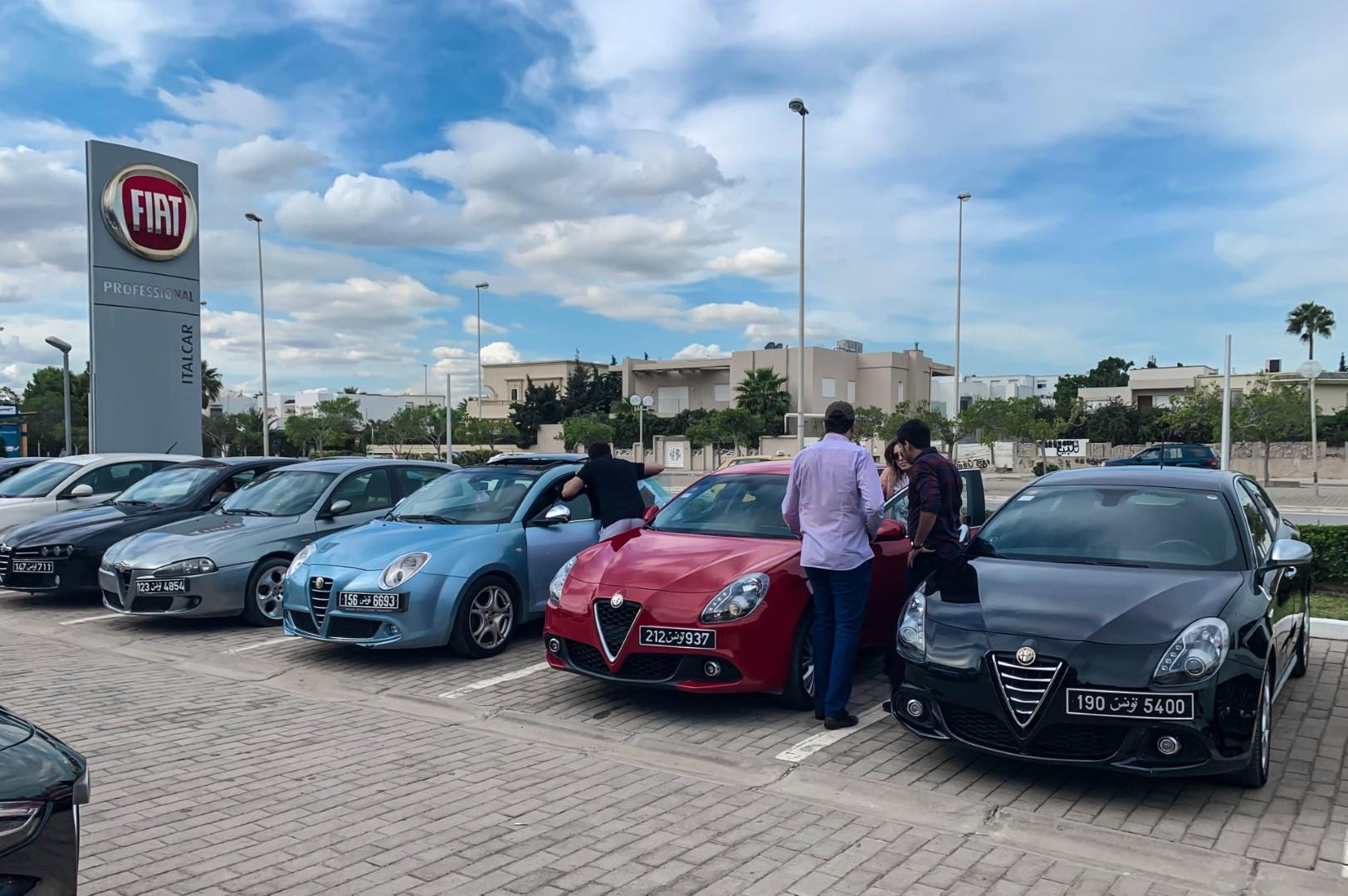 Le meeting des Alfistes chez Italcar