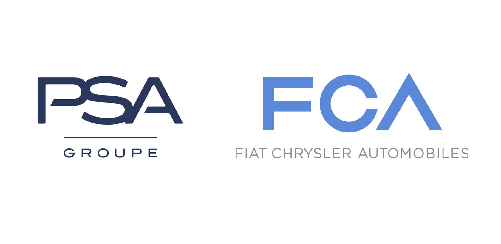 PSA et FCA présentent leur projet de fusion