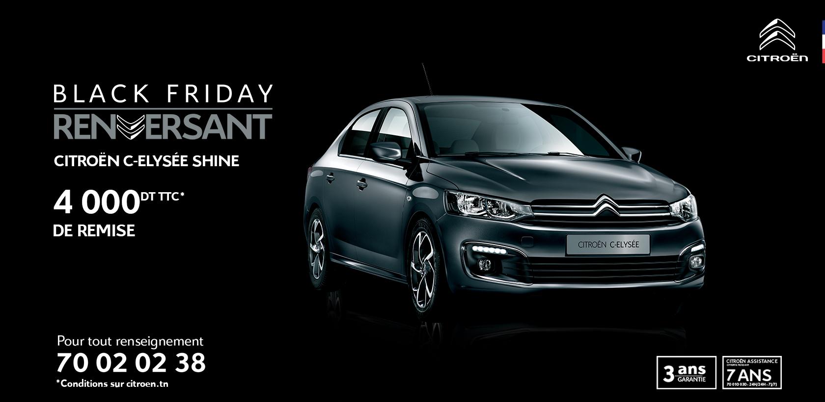 Black Friday chez Citroën