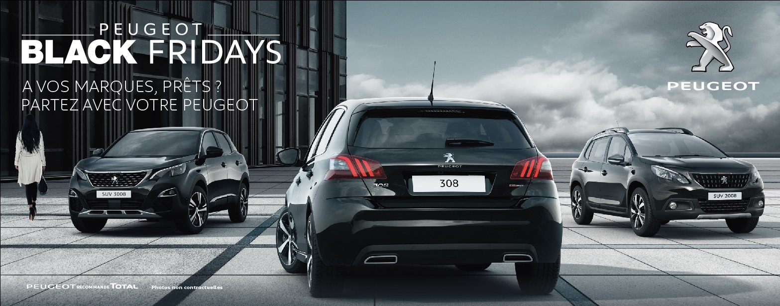 Black Friday chez Peugeot