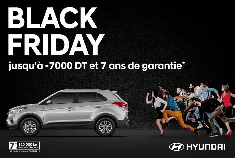 Black Fridy chez Hyundai