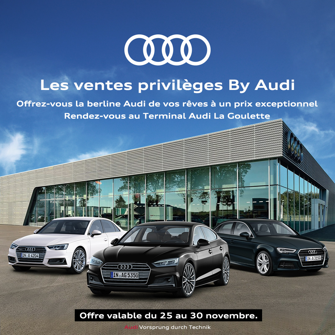 Les ventes privilège Audi