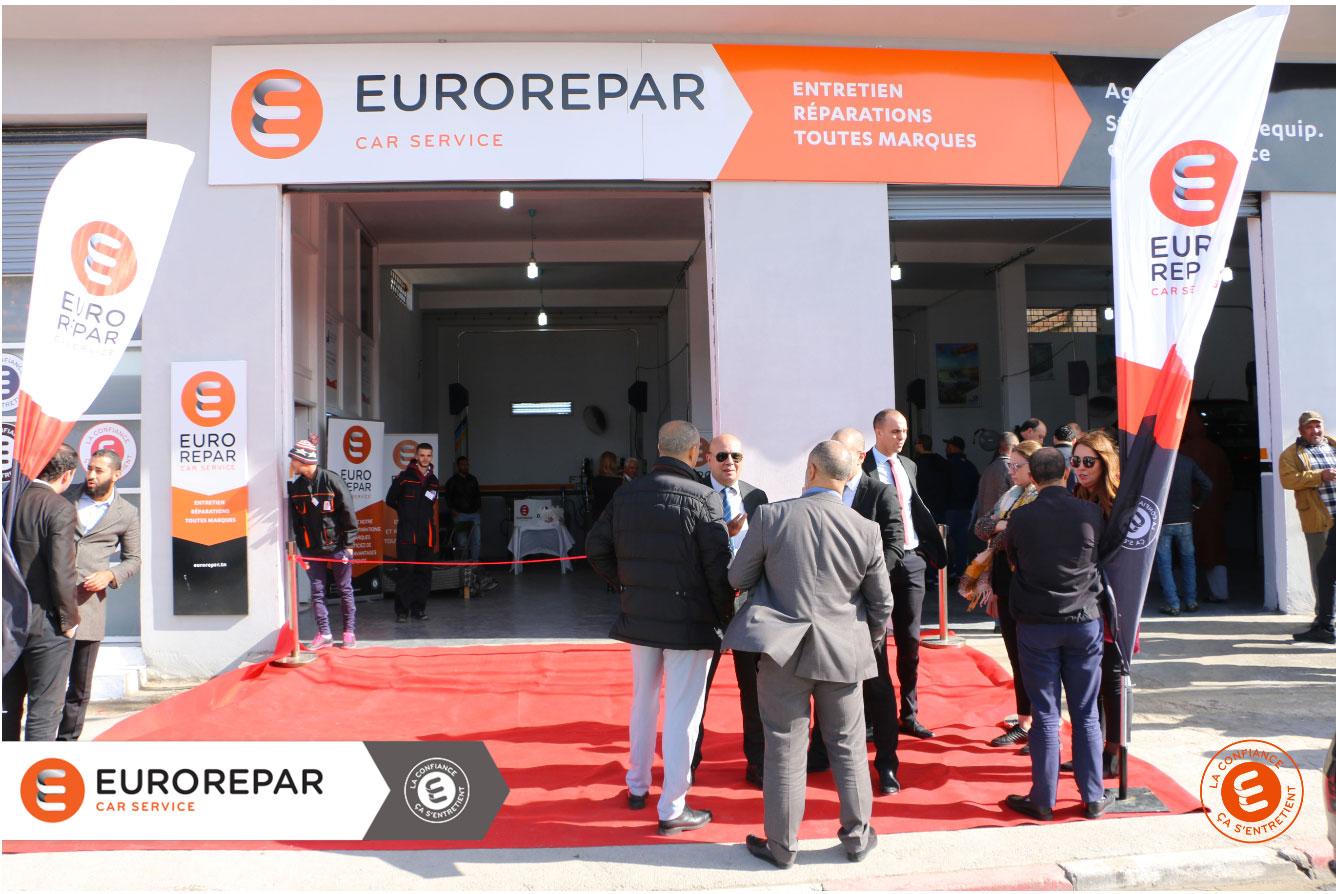 Nouveau centre Eurorepar à Sidi Hassine