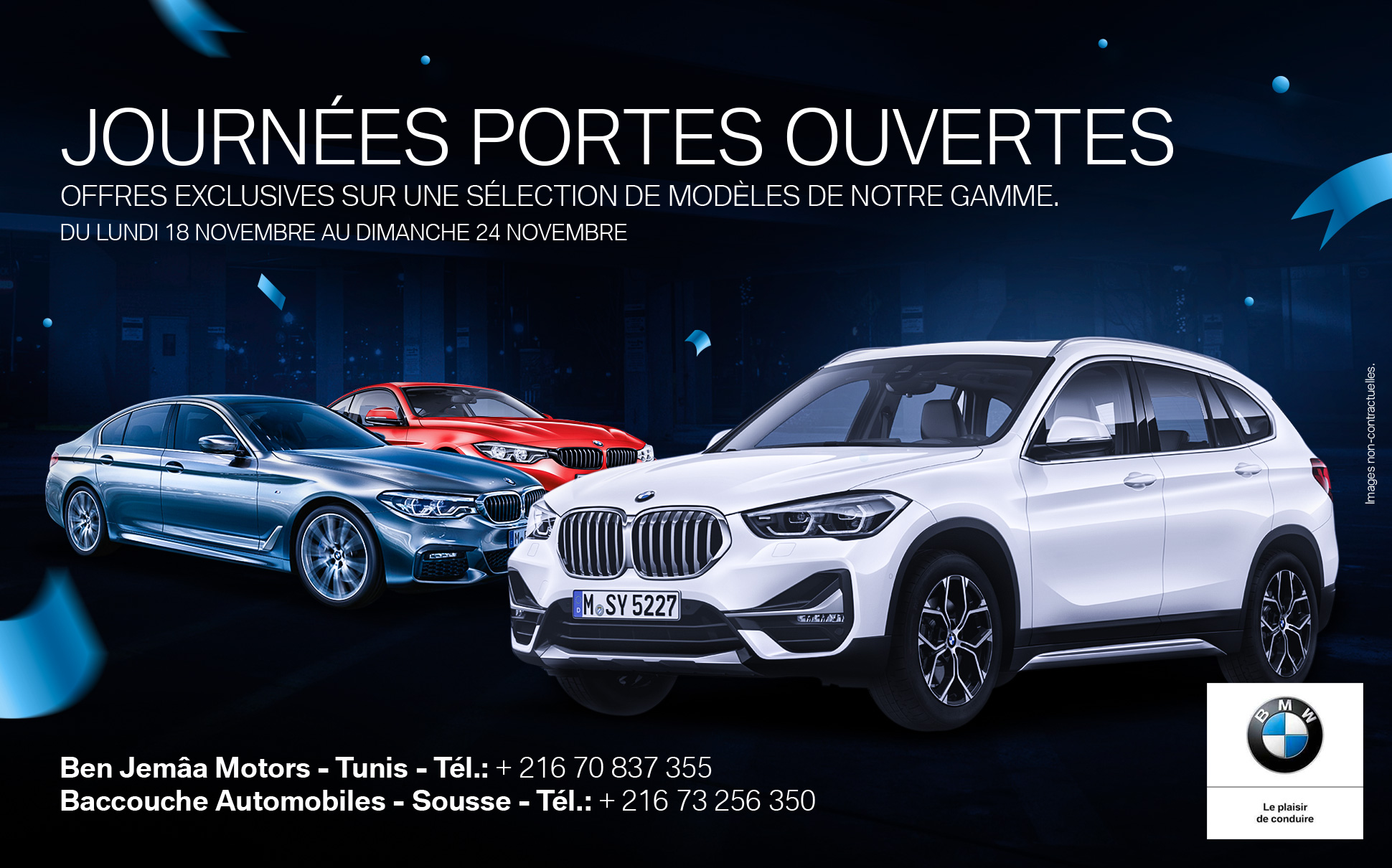 Portes ouvertes BMW