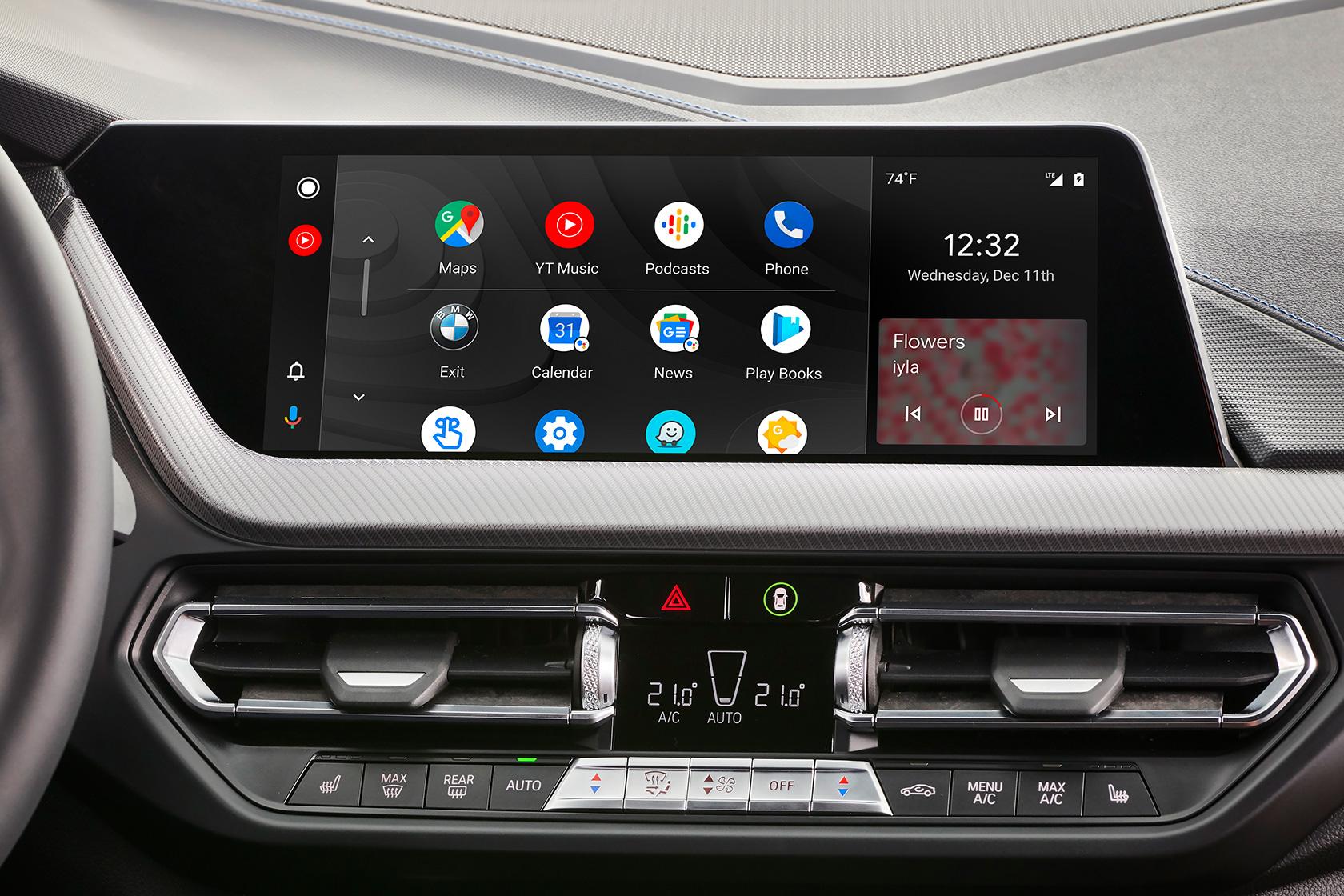 Tech et Web Android Auto enfin adopté par BMW, sans fil