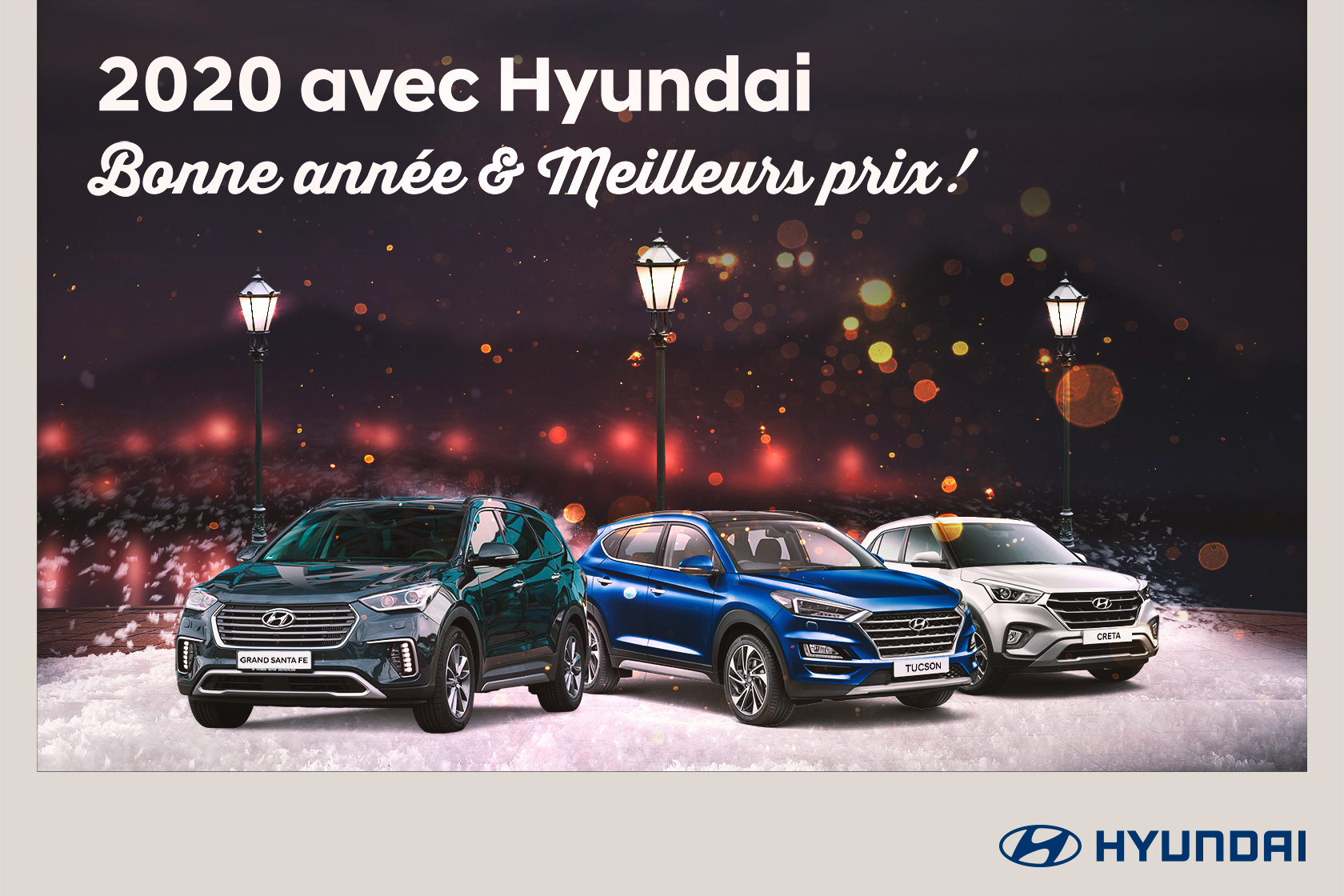 2020 avec Hyundai