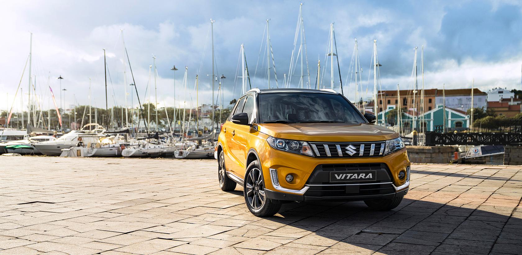 Nouveau Look et nouveau moteur pour le Suzuki VITARA