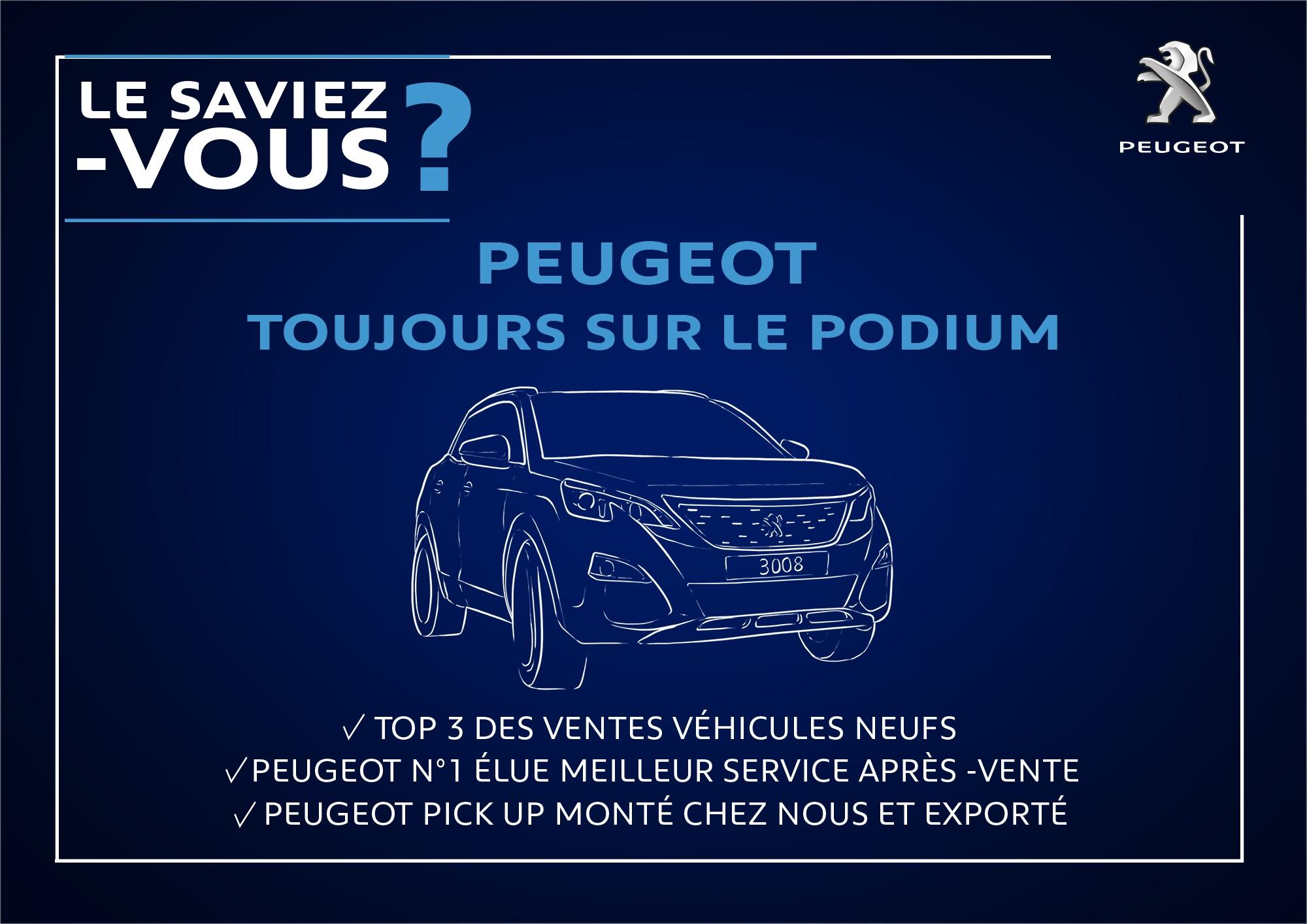 Peugeot toujours sur le podium