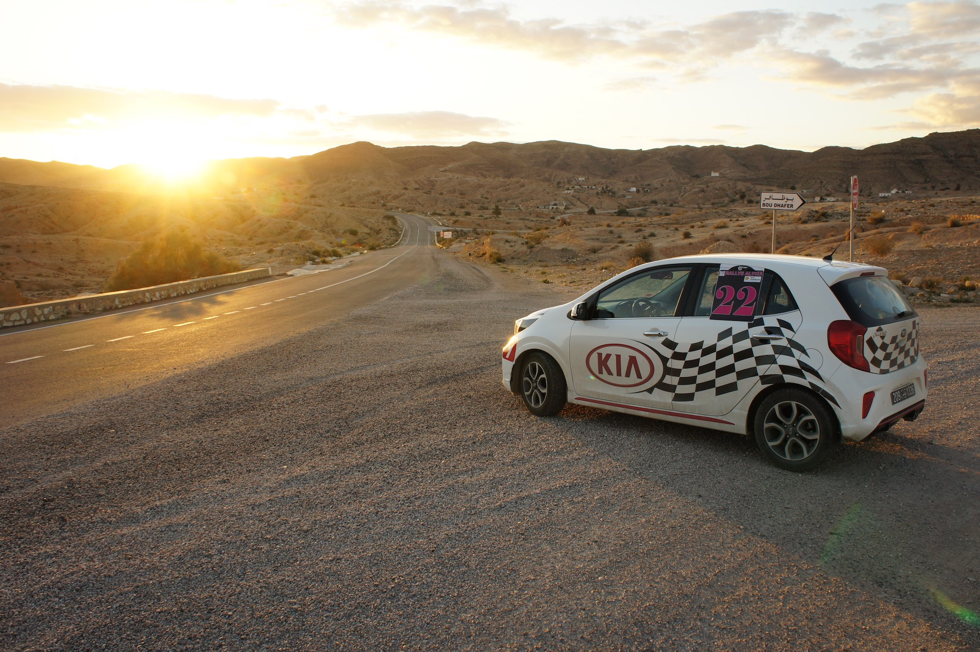 Rallye Alyssa, le grand défi de la KIA Picanto