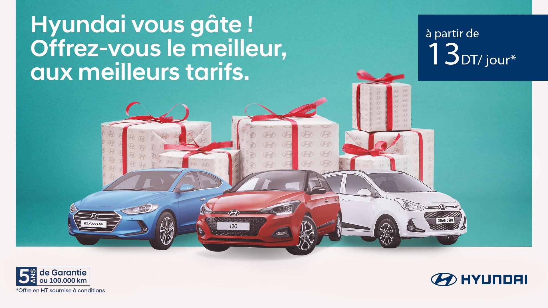Offres de financement avantageuses chez Hyundai