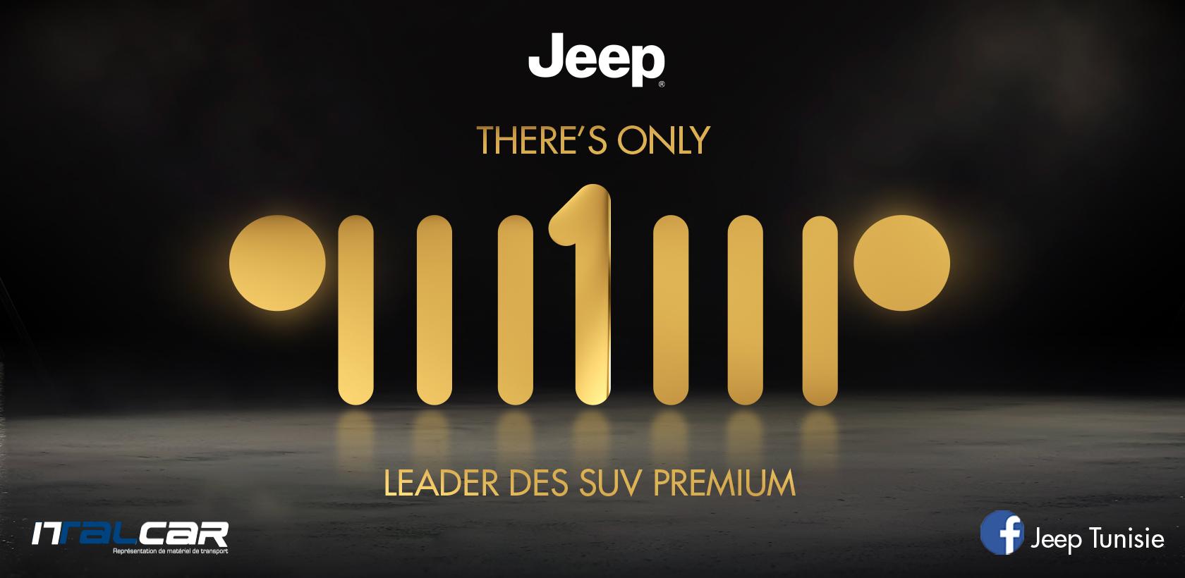 JEEP Tunisie consolide sa position de leader sur le segment SUV Premium