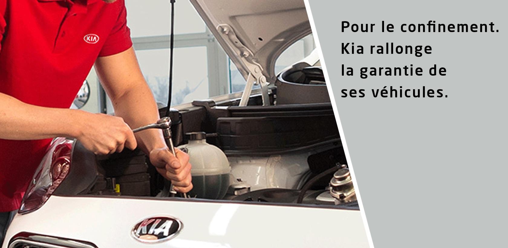Kia rallonge la garantie de ses véhicules pour le confinement