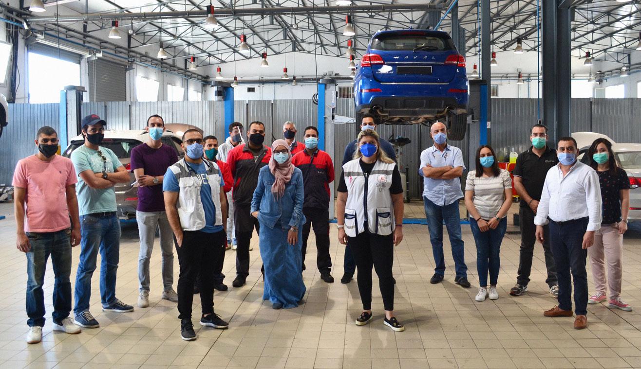 ATLAS AUTO et SOTUFEM, Atelier de sensibilisation et mesures de prévention