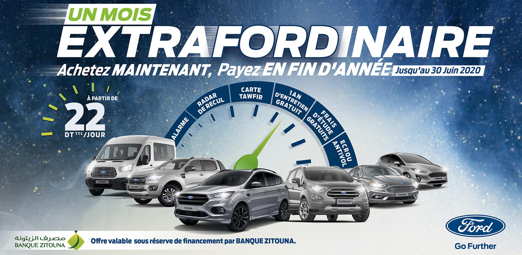 Ford Tunisie et Banque Zitouna