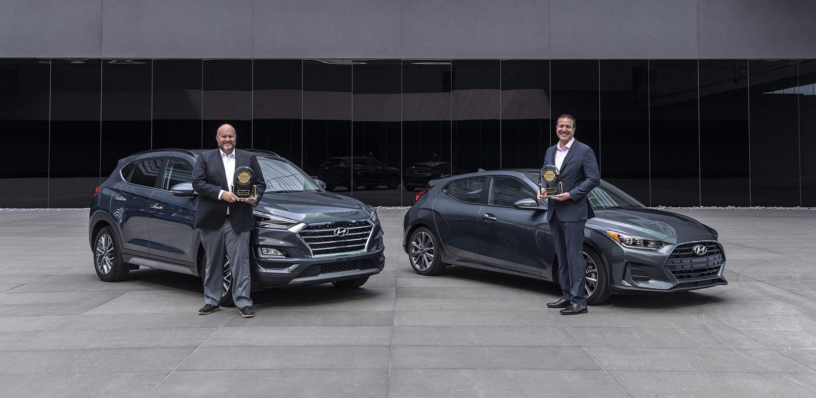 Etude J.D. Power sur la qualité initiale, Hyundai Tucson meilleur SUV compact