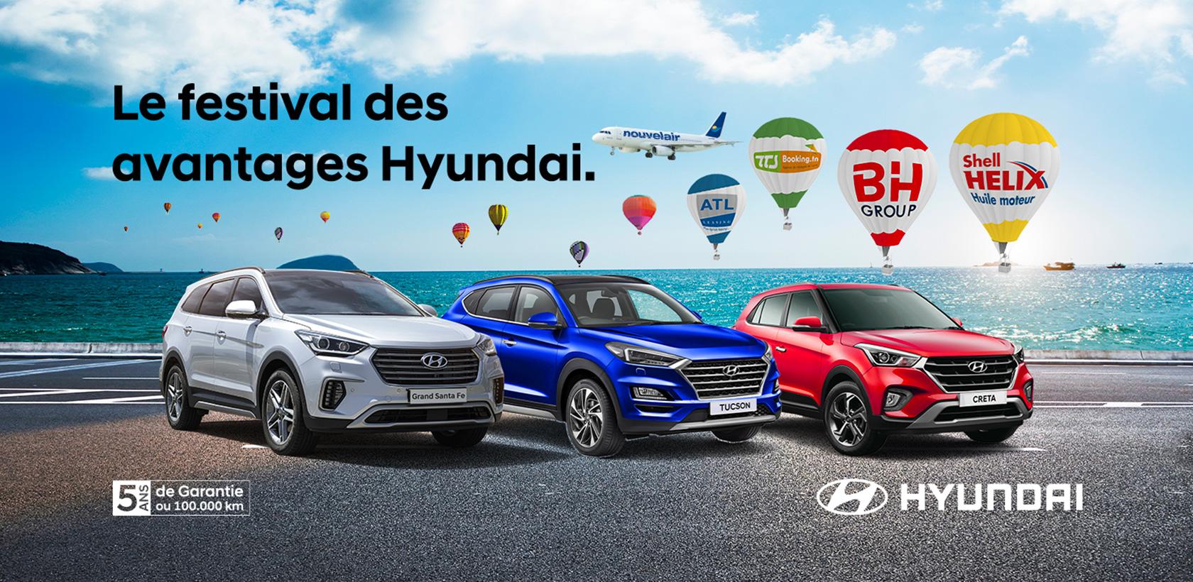 Festival des avantages Hyundai