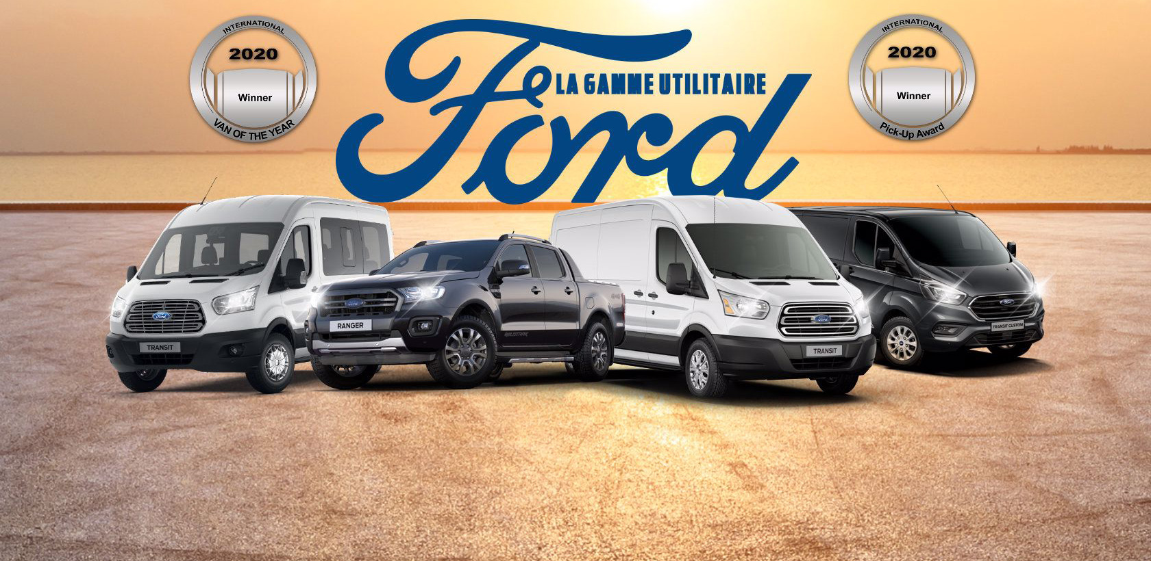 Gamme utilitaire Ford