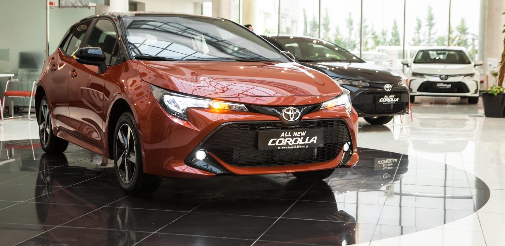Nouvelle Toyota Corolla, la compacte la lus vendue au mois de Juillet