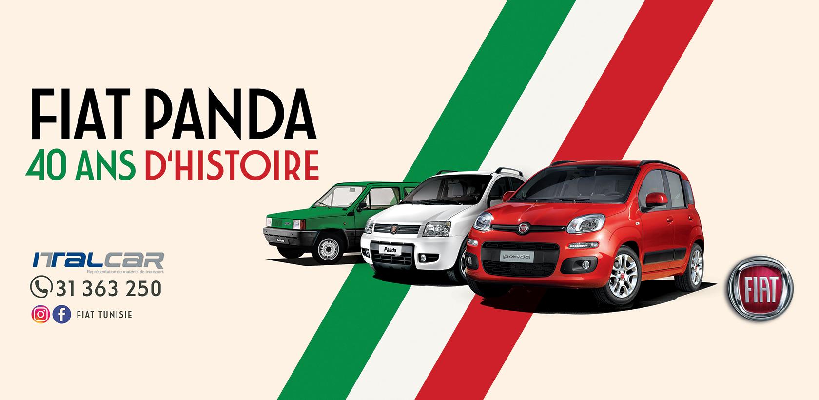 La Fiat Panda fête ses 40 ans