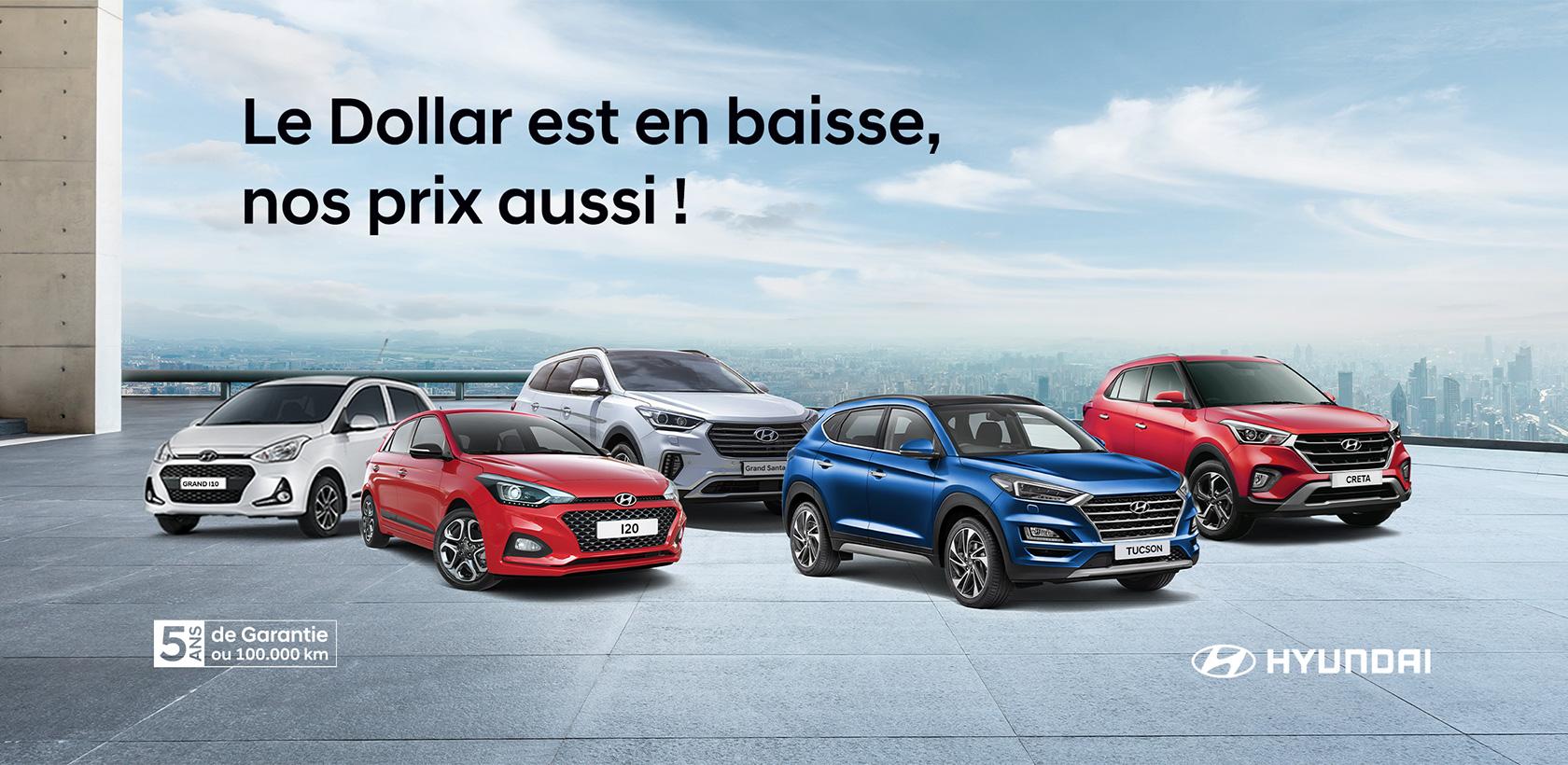 Baisse des prix chez Hyundai