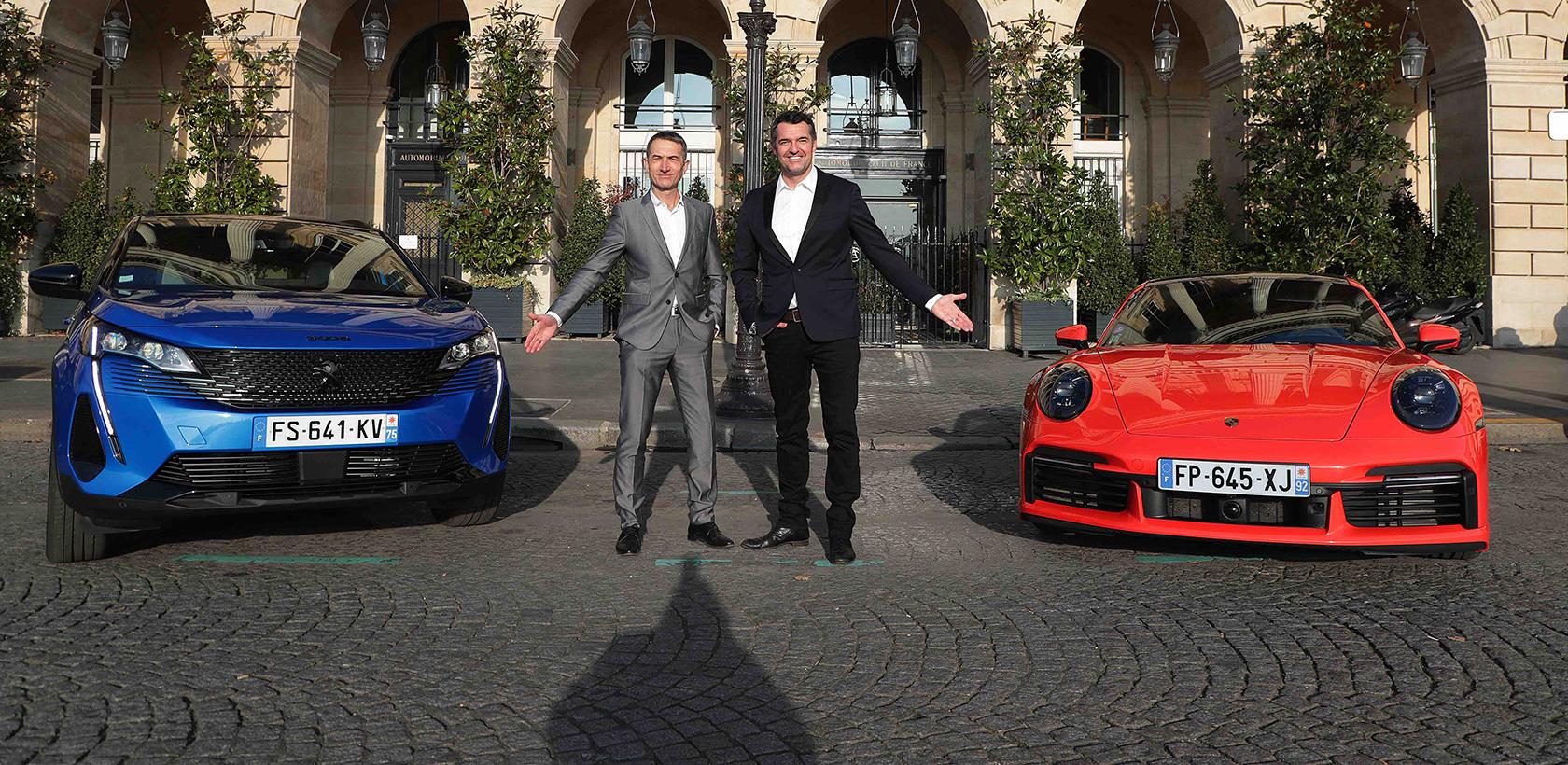 Peugeot remporte trois prix aux automobiles awards