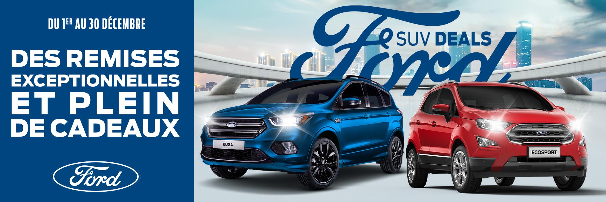 Ford SUV Deals, des remises exceptionnelles et plein de cadeaux