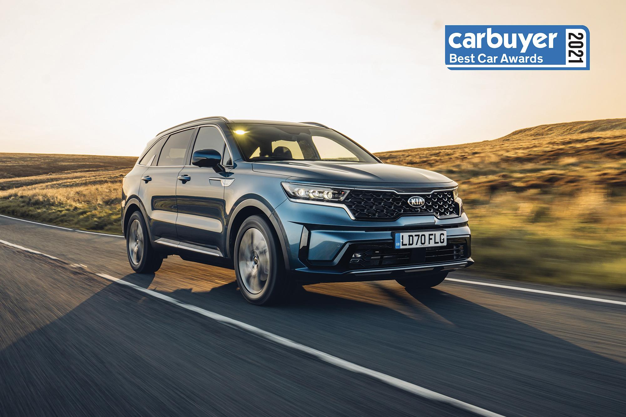 Nouveau KIA Sorento, Le SUV phare de la marque élu « Voiture de l'Année » par CarBuyer