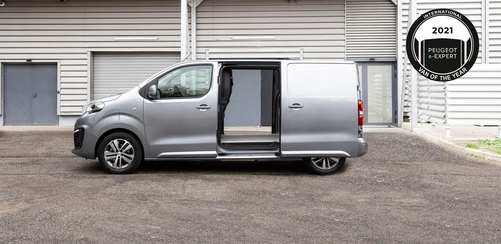 Nouveau Peugeot e-Expert, élu International Van Of The Year 2021