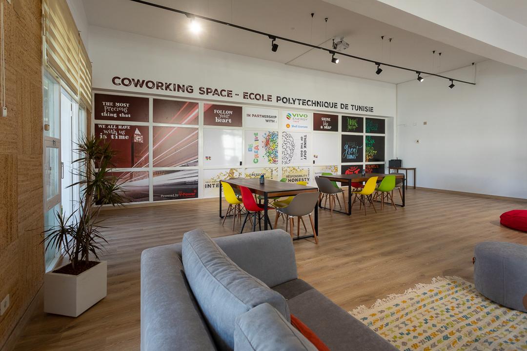 Vivo Energy et l'Ecole Polytechnique de Tunisie Inaugurent le premier Coworking Space en université