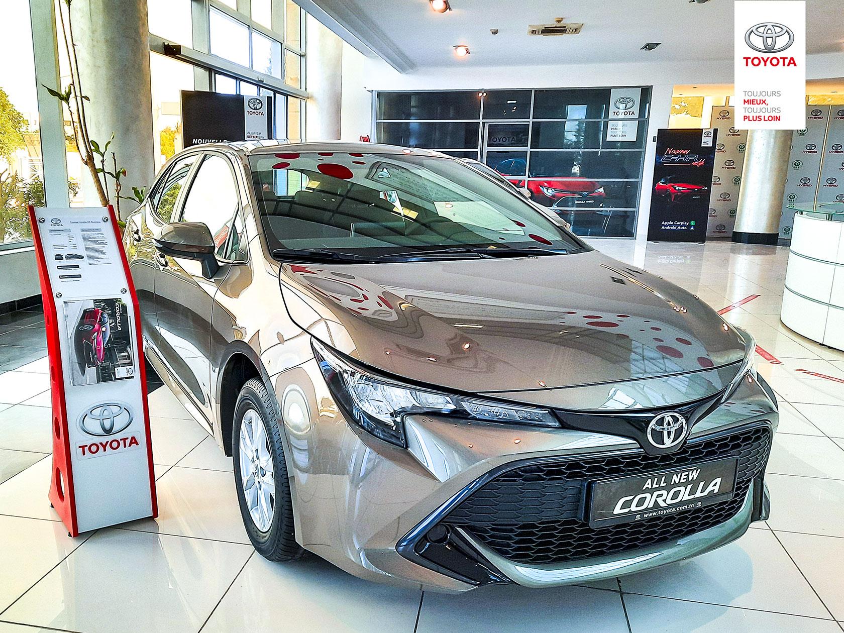 La Toyota Corolla reste la voiture la plus vendue en 2020