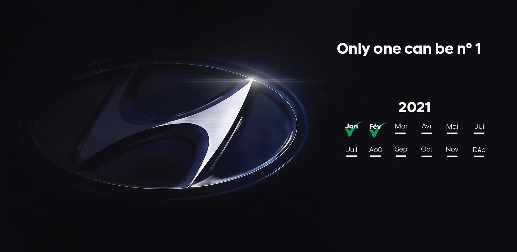 Hyundai affole les compteurs en Février
