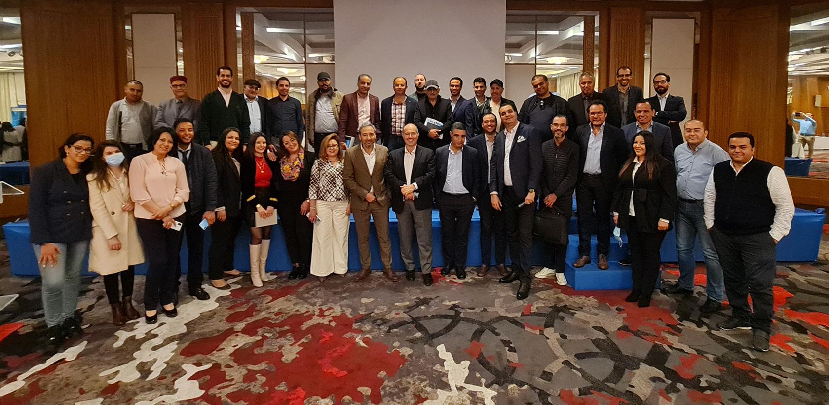 10ème convention réseau Italcar à Hammamet