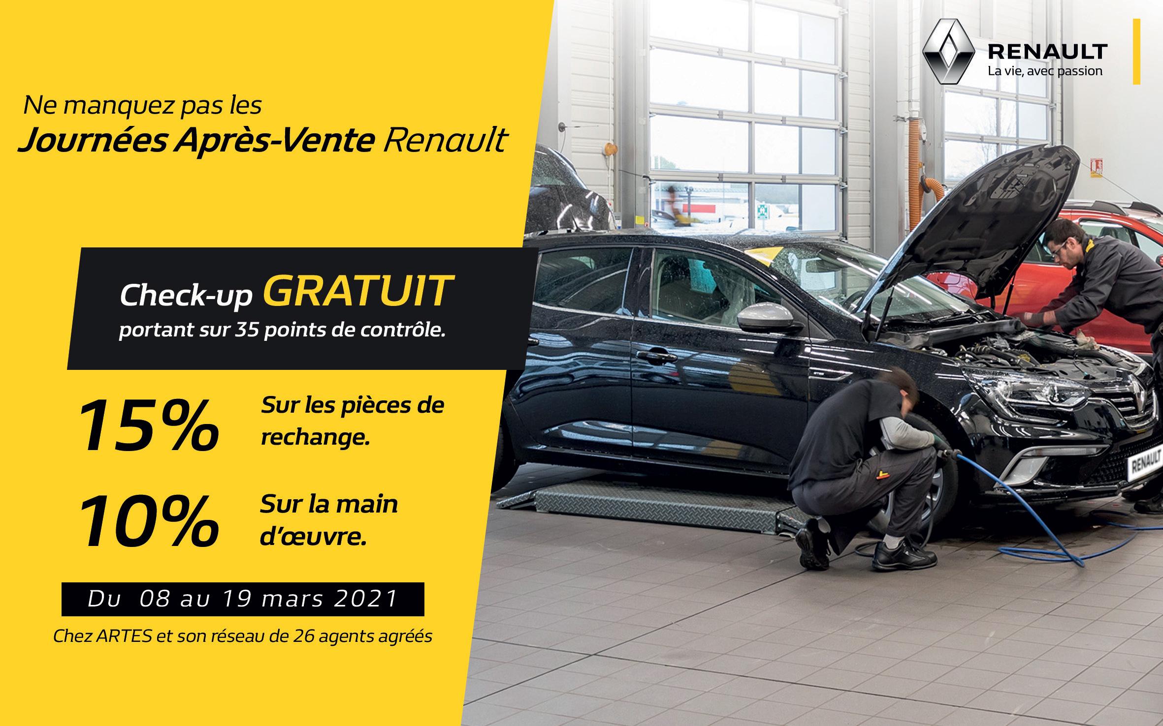 Journées après vente Renault