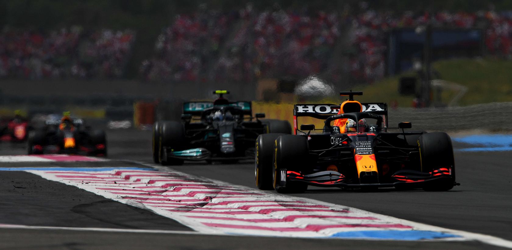 Victoire au Grand Prix F1 de France