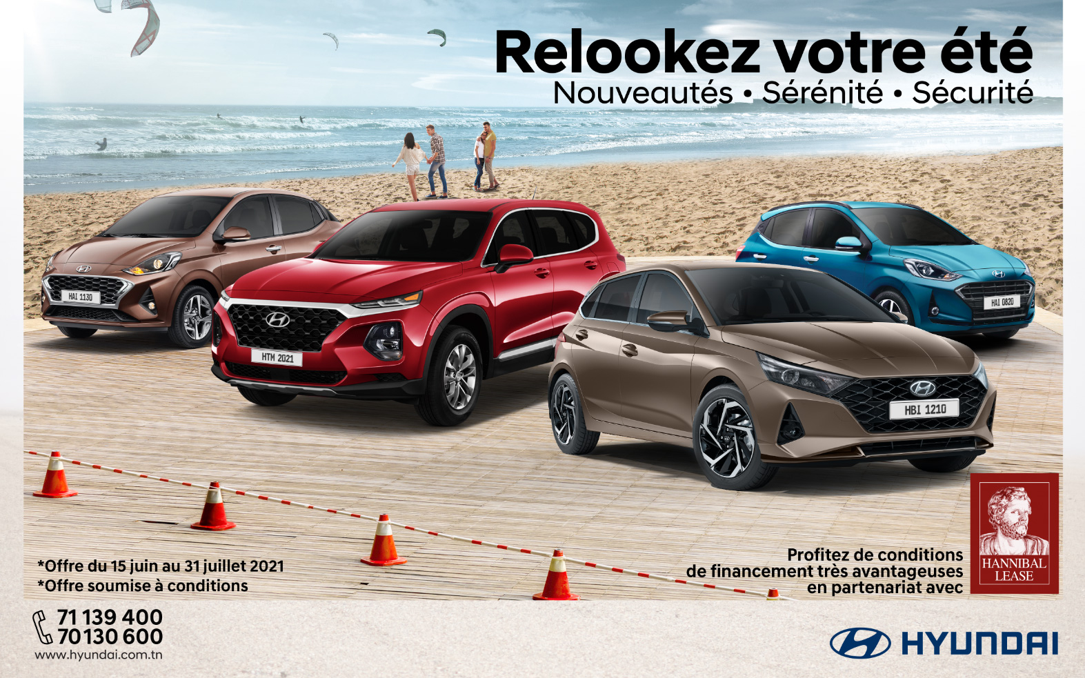 Hyundai Tunisie et Hannibal Lease