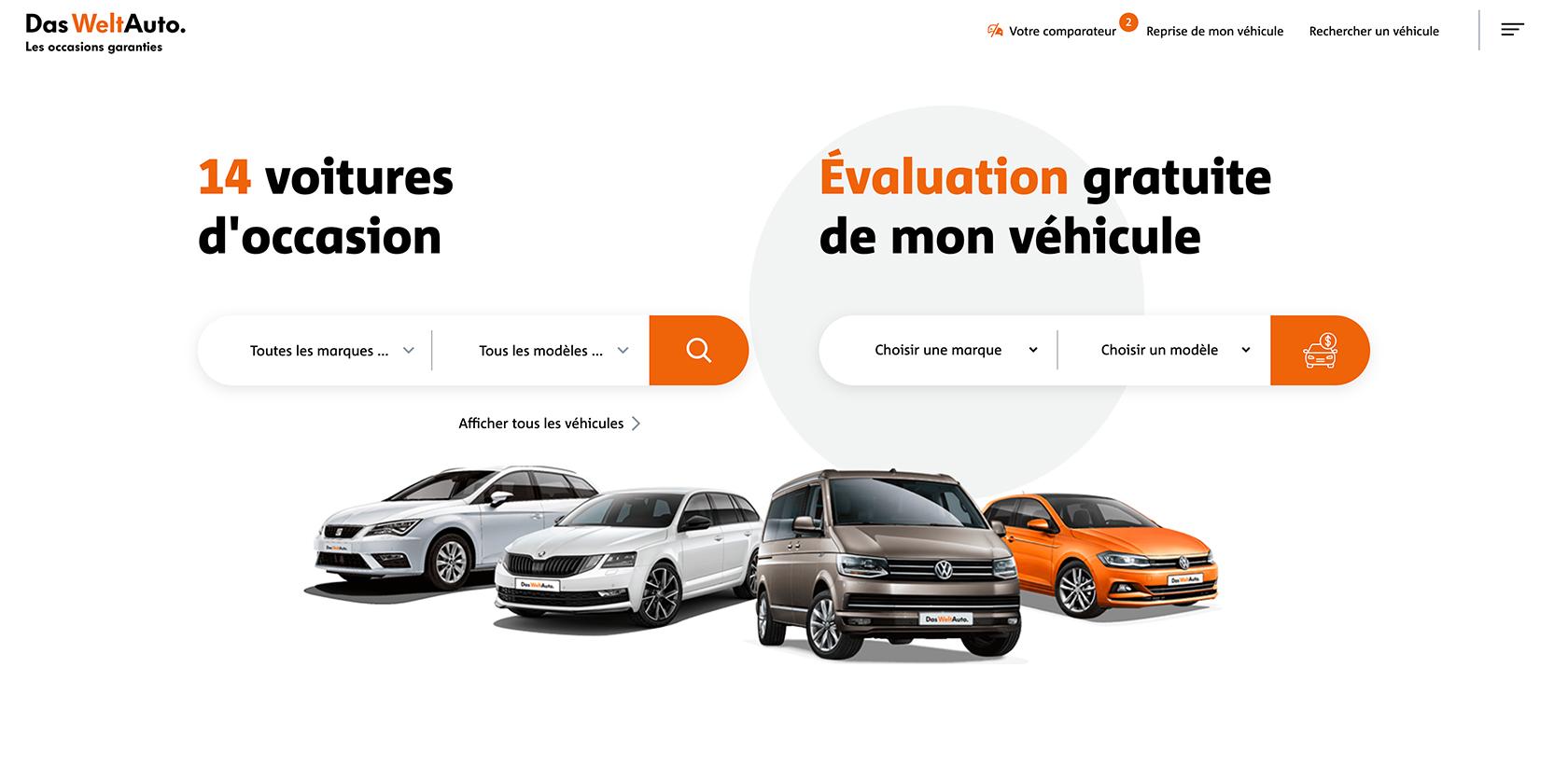 Le site Das Welt Auto fait peau neuve et propose un argus en ligne
