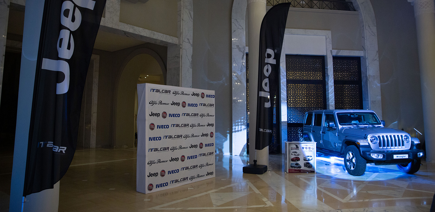 Italcar soutient l'opération Djerba Music Land
