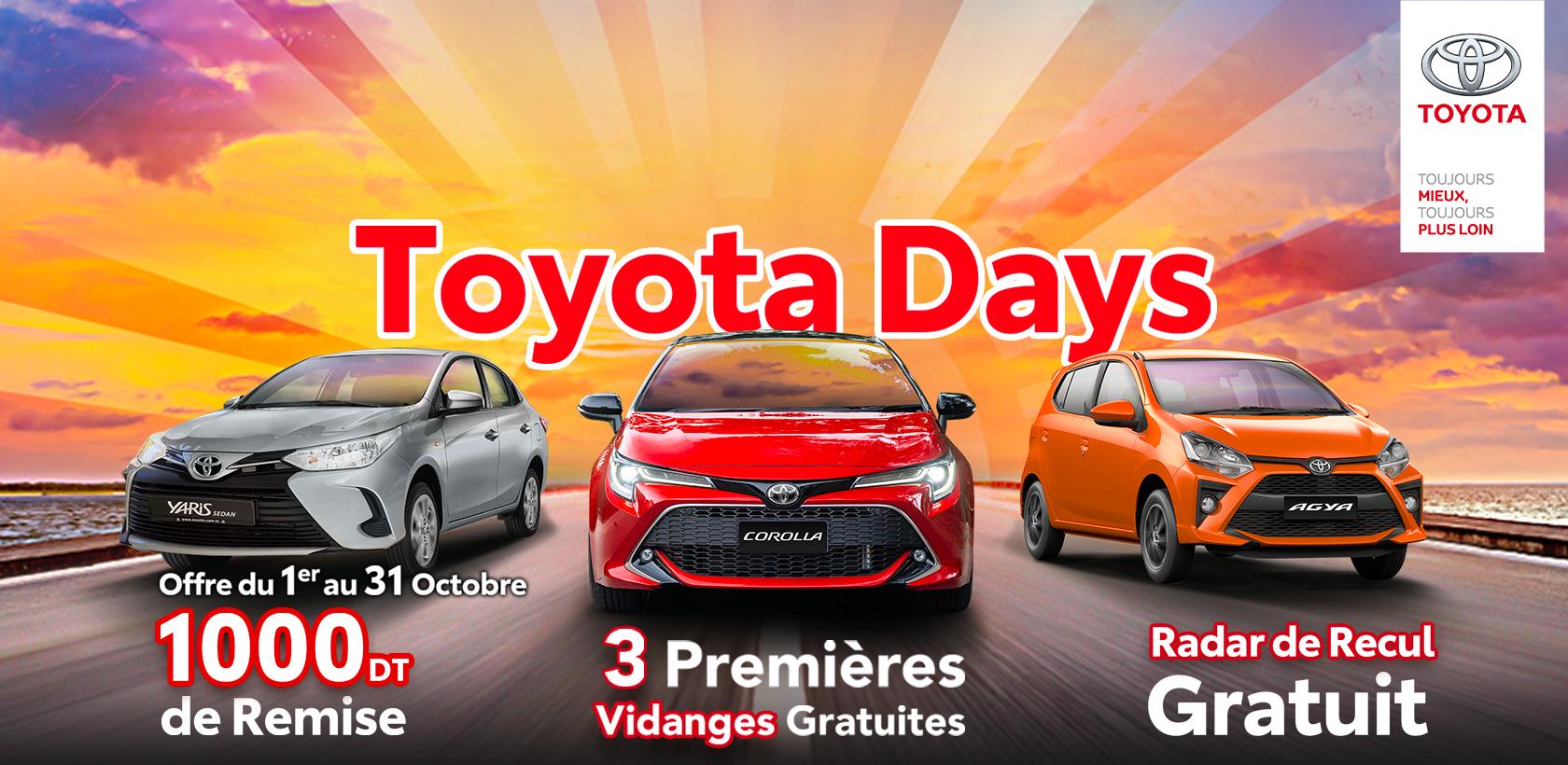 Toyota Days 2021