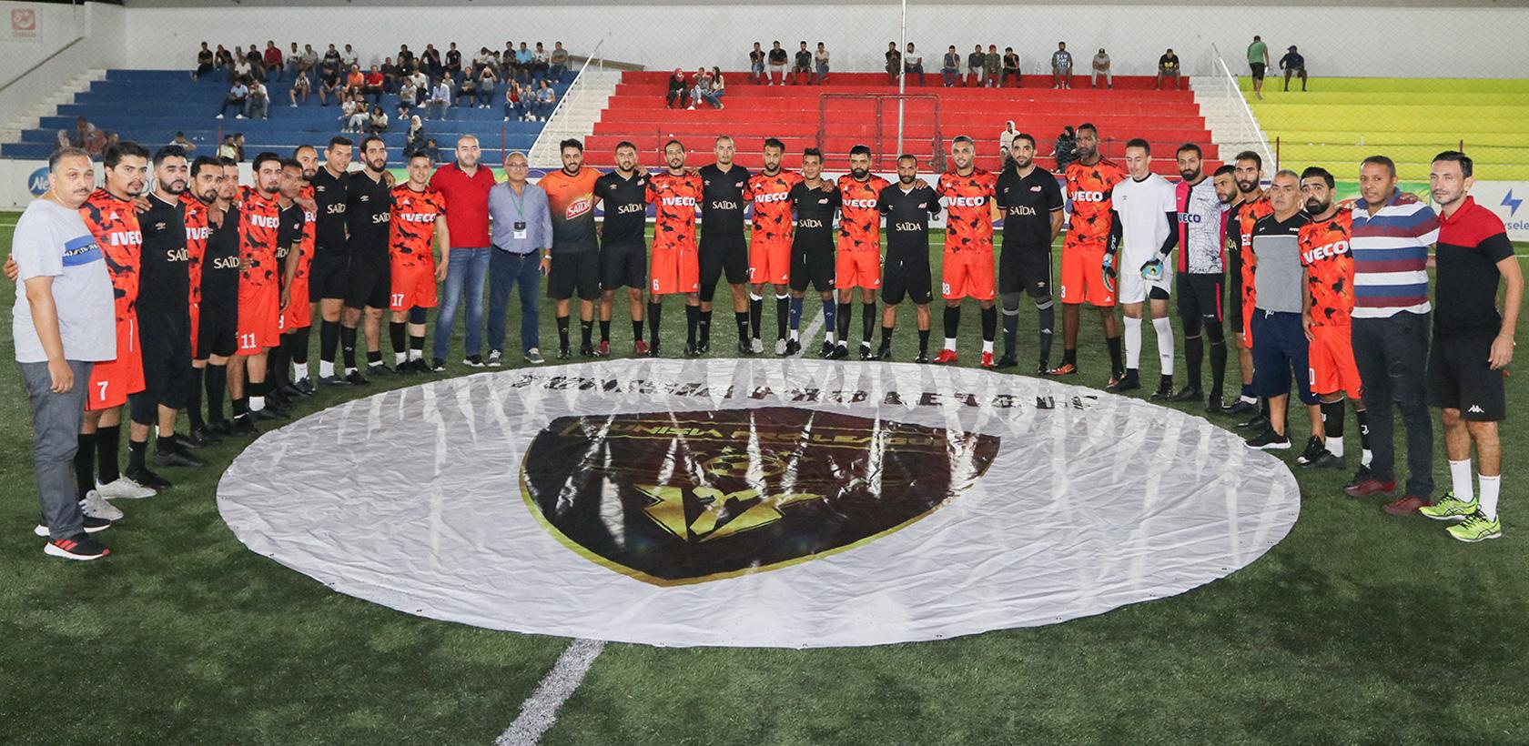 L'équipe de football d'Italcar vainqueur de la TPL