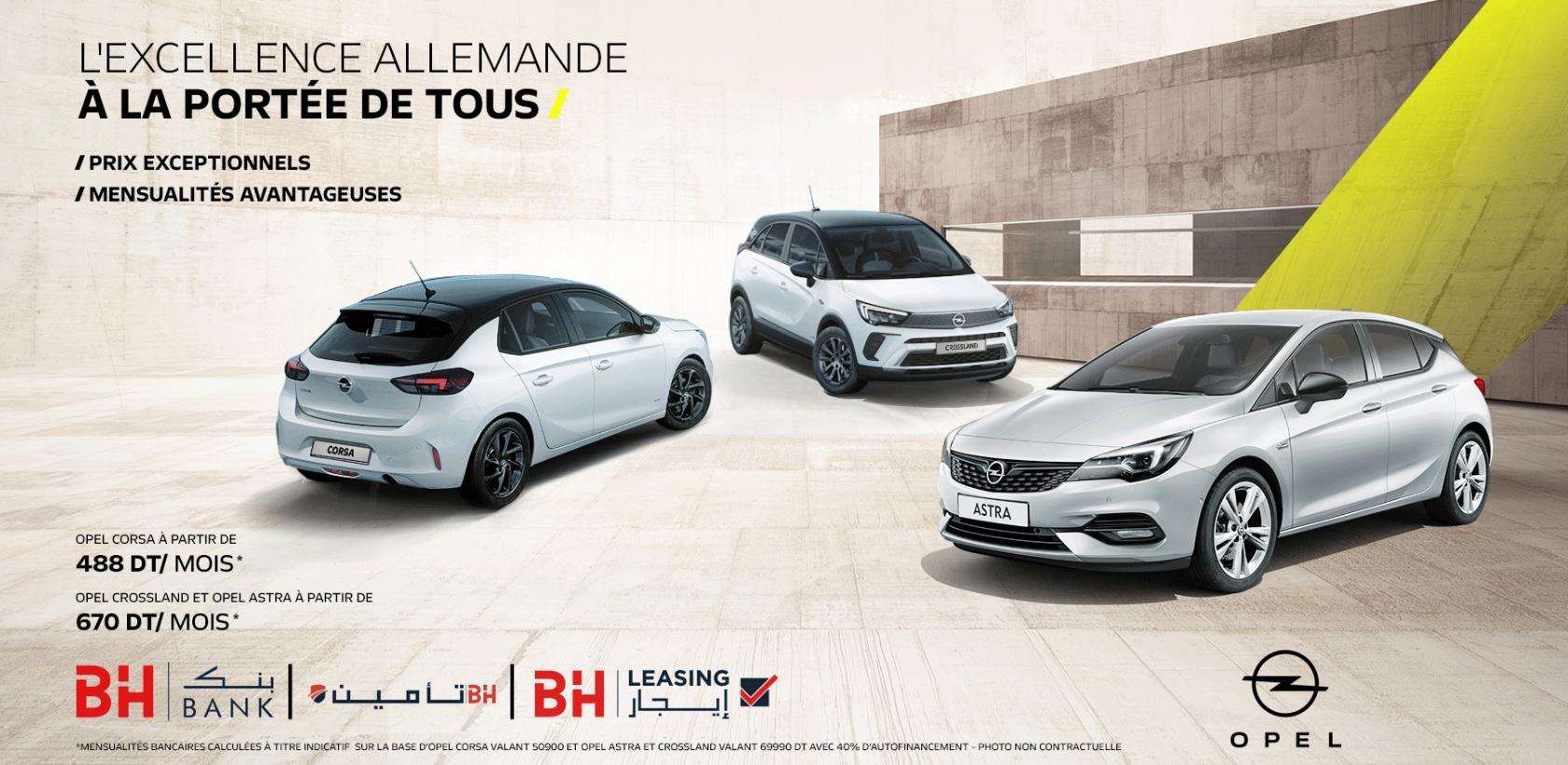 Opel, l'excellence allemande à la portée de tous